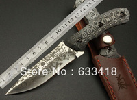 Daisy M-A05 Straight Knife 5Cr13 56HRC Micarta tactical straight knife outdoor survival knife factory wholesale