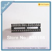 Free Shipping 100PCS/LOT DIP28 socket  28pin  IC sockets Adapter Solder  28P socket  narrow type