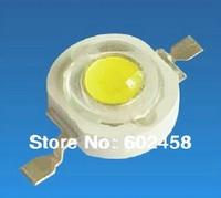100PCS/LOT High Power led  1W led 90-100LM 3.4-3.6V White  Red Green Blue Yellow Warm White led lamp 6500-7000K