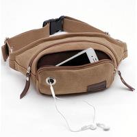 TOPseeka 26 / 43 inch Waist Pouch Travel Hip Purse Bag On Belt Waist Pack for men wholesale retail