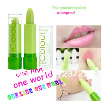 makeup lipstick Magic color make up gradient lipstick pink waterproof wate resistant  moisturizer easy to make free shipping