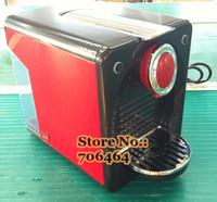 Red Semi-automatic NEspresso capsule coffee machine unprofitable price compatible with Nesspressocapsule coffee maker cappuccino
