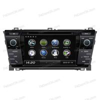 in car dvd player autoradio car gps navigation for Toyota Corolla 2014