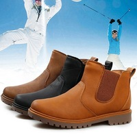 083 Snow Boots Men Shoes Winter Fur Martin Boots For Man Fashion Casual Plus Velvet Cotton-padded Thermal And Keep Warm
