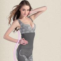Free shipping Magic full body shapewear gen bamboo charcoal sexy women spandex bodysuits 60 pcs/lot 213 USD