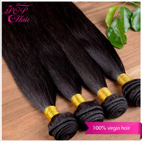 Ali POP hair peruvian hair human hair weave straight 4 bundles peruvian hair bundles 4a grade tangle and shedding and lice free