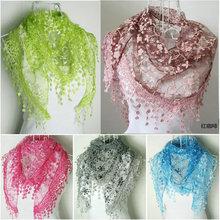 popular printed silk scarf