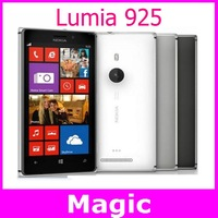 Unlocked original Nokia Lumia 925 8MP camera 4.5 inch touch screen Mobile phone in stock one year warranty free shipping