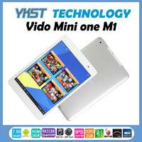 "Free shipping Vido M1 mini one tablet pc 7.9"" IPS screen 1024x768 pixel Rockchip RK3188 quad core 1.6-1.8GHz HDMI OTG Bluetooth"