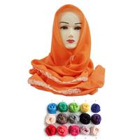 Muslim ladies Fashion  hijab lshawls scarf,(12 pieces/lot)+free shipping