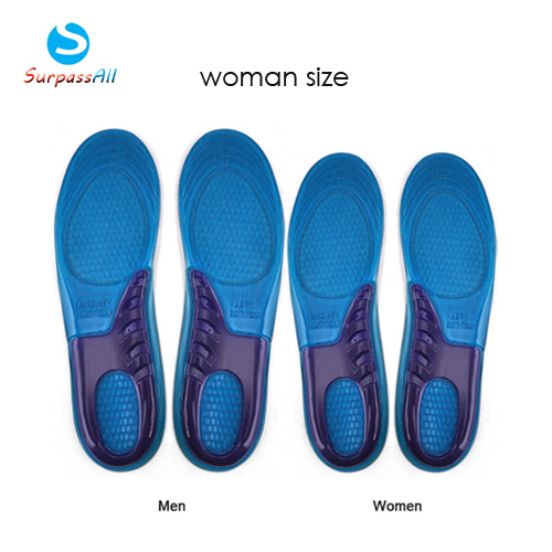 Sports insoles for plantar fasciitis