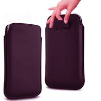 HK Post free shipping  13 Color pu Leather Pouch cover Bag for sony xperia L S36h c2105 Case