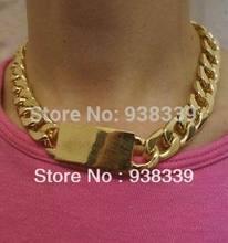 chunky link necklace promotion