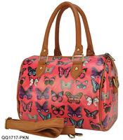 Fashion Butterfly Printing Ladies Handbags Women Shoulder Bags Tote SS1717