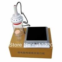 Aluminum foil seal induction bottle sealing machine,intelligent electromagnetics capping sealer,plastic container pressure seals