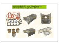 New Engine Overhaul Rebuilt Kit for K4N 2290cc Diesel Engine Excavator Digger and other Custruction Machine