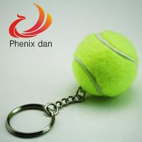 Baseball Key Chains 10pcs/lot mixed lot Smooth surface mini Plastic Cyan key chain volleyball key chain