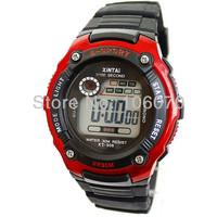 Free shipping New 2013 Watches Men Luxury Brand XINTAI Sport Digital Watches For Children Quartz silicone Waterproof Dress Watch