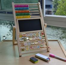 Livraison gratuite préscolaire Sketchpad la abacus caculate étagère pour rack bébé jouets, D279.(China (Mainland))