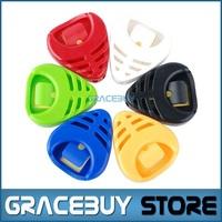 100 pcs Wholesale Guitar Pick Holder / Case Random Color - Alice A010B