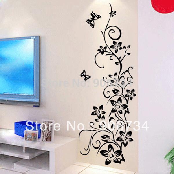 Красивый рисунок на стену в комнате своими руками