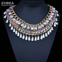 stainless steel chains women accessories chunkycrystal necklace choker statement clear crystal choker necklace statement choker