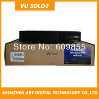 2014 Newest Vu+ solo 2 dvb-s2 twin tuner hd satellite receiver support dolby