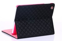 New Arrival! 1 piece/lot Classic Casual Leather Case for Apple iPad 4/3/2 Drop Shipping,Free Shipping