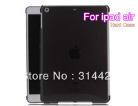 10pcs/lot free shipping DHL New ultra thin transparent crystal back case cover for ipad air