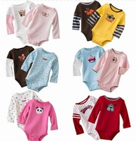 Carters long baby clothing bodysuits girl boy tuxedo rompers original clothing set wholesale newborn baby girl boy bodysuit