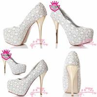 Free Shipping 2013 New Hot Sale High Quality Women's Pumps High Heel Platform WS-001