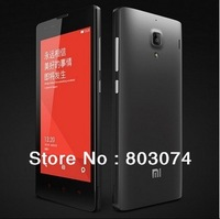 New arrival Original XIAOMI Red Rice / Hongmi Quad Core MTK6589T 1.5Ghz Mobile Phone 1GB RAM 4GB ROM 4.7'' IPS HD Dual SIM GSM