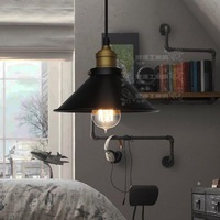 loft small vintage American country protected pendant light/lamps/lighting free shipping lighting light pendant lamps