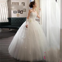 2013 New fashion  backless  wedding dress gown