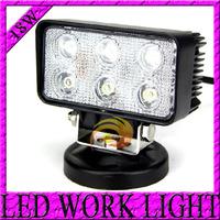 DC 10-30V 18W 3*6 LED Work light Aluminium alloy Working Spot Light car Fog light For Jeep SUV ATV Off-road Truck Free shipping