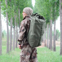 Outdoor large backpack march package large capacity travel moving package tent luggage bag