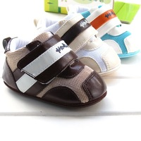 New arrival rubber soft sole baby shoes antiskid infant footwear prewalkers first walkers high quality 3 colors for choose 13100