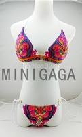 2014 Newest swimwear women new push up Victoria Free Shipping Sexy Fashion Good Quality Swimsuit brazilian gift