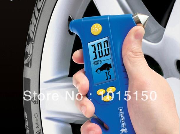tire digital pressure manometer /emergency hammer/LED light/cutting knife(China (Mainland))