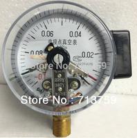 Magnetic Electric Contact Vacuum Gauge Pressure Gauge Manometer M20*1.5 100mm Dia -0.1-0Mpa