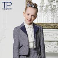 2014 Noble luxury girls clothes baby desigual coat( TGQ1305017)
