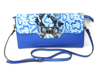 high quality pythons leather lady clutch bags