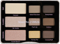 Nake 2013 Version Iron box Natural Eye Shadow Collection 9 colors Cosmetic Eye Shadow makeup palette Dropshipping