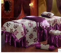 High-end multi-functional beauty denim bedspread bedspread adjustable body massage table