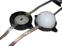 56mm diameter WS2811 led pixel module,injection type,1.44W,6pcs leds inside,DC12V input;IP68;milky cover