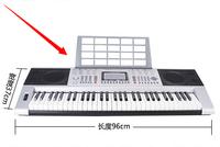 332 orgatron 61 music piano key professional teaching electronic keyboard usb flash drive