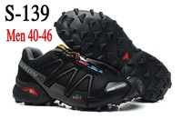Zapatillas SALOMON Men Running Shoes SpeedCross 3 CS men's running shoes waterproof shoes, euro size 40-46, free shipping
