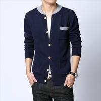 2013 New Arrival Men's Sweater Slim Long-sleeve O-neck Sweater QP-283