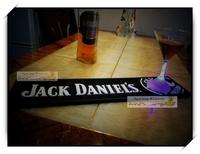 Jack Daniels  Bar Mats Soft PVC bar Runne/Drip Mat   for Pub bar Decoration,-  Cafe 1pc/lot  50x 12x1cm BAT-8