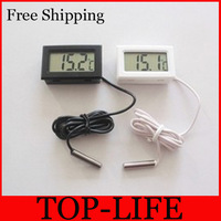 7029 free shipping Small and convenient electronic thermometer aquarium thermometer without battery
